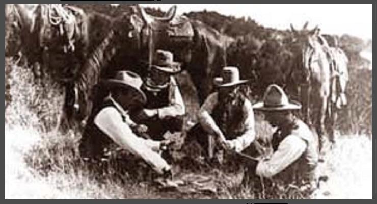 """3)  de """"LAS VEGAS"""" aux WSOP 1855- 1974 ( histoire du poker) Cowboys"""